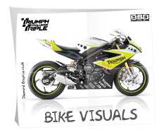 Diamond Graphics design & draw bike visuals