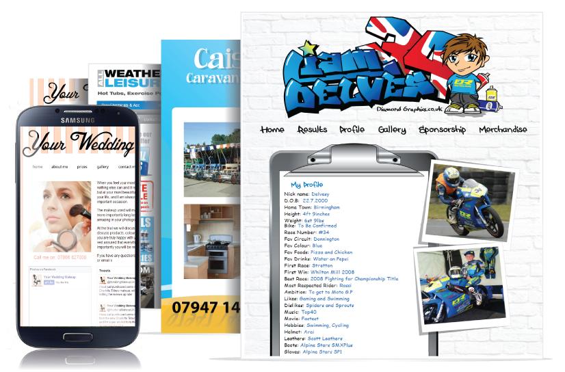 personal website designers based in stourbridge west midlands uk